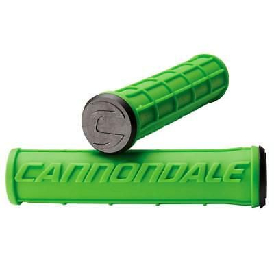 Cannondale Gripset Logo Silicone Green , Manillares Cannondale , ciclismo