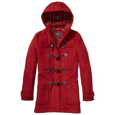 Pepe Jeans Kate Burnt Red , Abrigos y parkas Pepe jeans , moda , Ropa Mujer