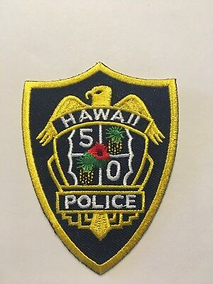 Hawaii 5-0 Police Patch