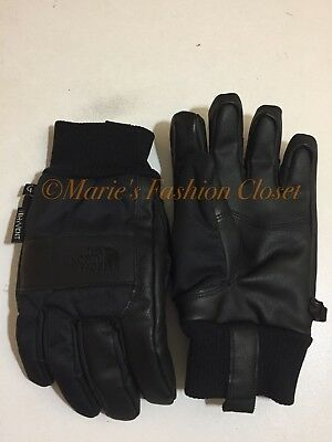 """Small - S Youth/Jr North Face """"Work"""" Etip Waterproof Insulated Ski Gloves Black"""