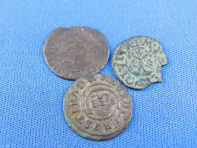 German States  3 Old Coins   See Scan  Rare  (A13/104)
