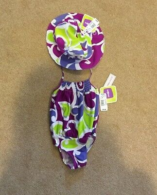 NWT Kids R Us Bathing Suit & Matching Hat - 3T