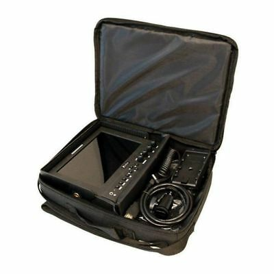 "Deep Soft Padded Carrying Case for 5"" to 7"" On-Camera DSLR LCD Video Monitor Kit"
