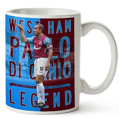 PAOLO DI CANIO Mug WEST HAM Football Legend Fathers Day Birthday Dad Gift LG59