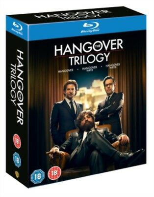 The Hangover - Trilogy (3 Films) Movie Collection BLU-Ray NEW BLU-RAY (100041491