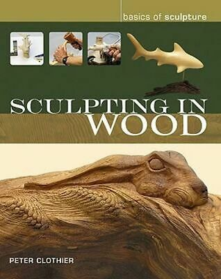 NEW Sculpting in Wood By Peter Clothier Paperback Free Shipping