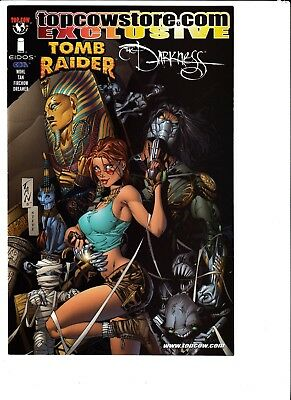 TOMB RAIDER / THE DARKNESS SPECIAL #1, Image/Top Cow (2001)