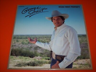 George Strait ♪ Ocean Front Property ♪ LP [NM]