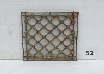 Antique Egyptian Architectural Wrought Iron Panel Grate (IS-052)