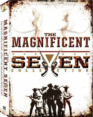 THE MAGNIFICENT SEVEN 4 MOVIE COLLECTION New 4 DVD Return Guns Ride