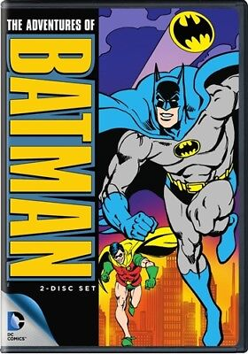 THE ADVENTURES OF BATMAN COMPLETE SERIES New Sealed DVD 1968 Animated