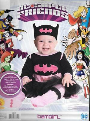ae7a97fd78d6 BABY GIRL HALLOWEEN DC Comics Wonder Woman 5 Pc Costume Outfit Size ...
