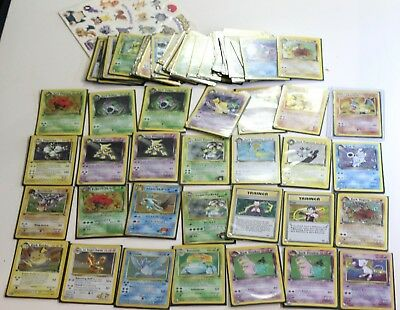OLD Vintage Pokemon 65 Card LOT ONLY HOLO Rare 1st Edition Mostly Near Mint