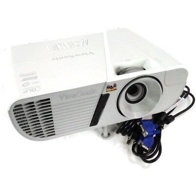 ViewSonic LightStream PJD7828HDL 3D Ready DLP Projector <150 Lamp Hours *Remote