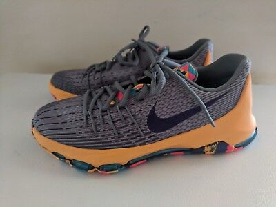 19f35545ad0 817b0 a11b2  promo code for new nike kd 8 viii pg county wolf grey durant  youth basketball shoes