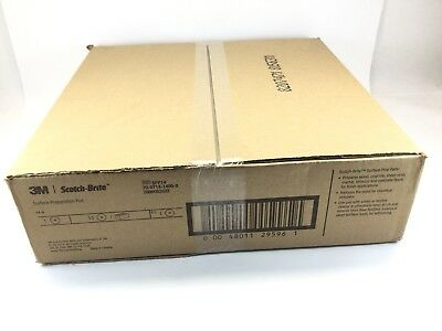 "BOX of 7 3M Scotch-Brite 14"" Surface Preparation Pad SPP14"