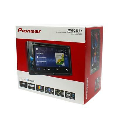 "Pioneer AVH-210EX 6.2"" Double-DIN Car Stereo In-Dash DVD Receiver with Bluetooth"