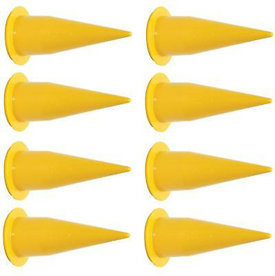 COX 2N1006 Yellow Cone Nozzle 8-Pack