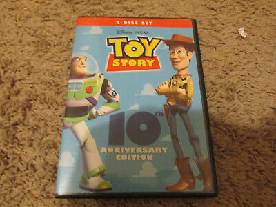 Toy Story:10th Anniversary Ed.2 DVDs  Tom Hanks Disney Pixar
