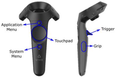HTC VIVE WAND Controller Touchpad Repair - $48 50 | PicClick