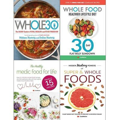 Whole30 Whole Food Healthier Lifestyle Diet 4 Books Collection Set Brand NEW
