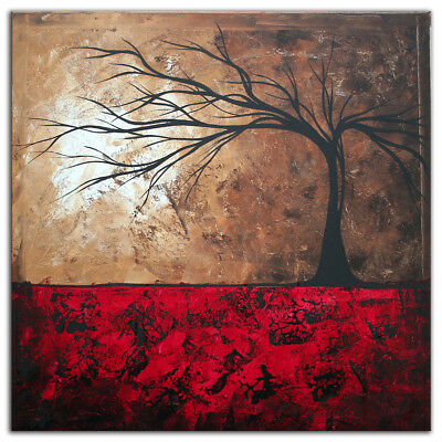 Megan Duncanson 'Lost in the Forest' Colorful Modern Landscape Painting Giclée