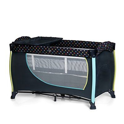 Hauck Sleep N Play Center II Multi (Multi dots navy|Sleep'n Play Center II)