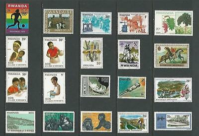 y5953 Africa  Rwanda / A Small Collection  Early & Modern Umm & Lhm