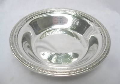 Reed & Barton Sterling Silver Medici Pattern Bowl X487 1946 85 Grams No Monogram