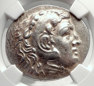 PHASELIS in LYCIA Silver Tetradrachm Alexander the Great Greek Coin NGC i72404
