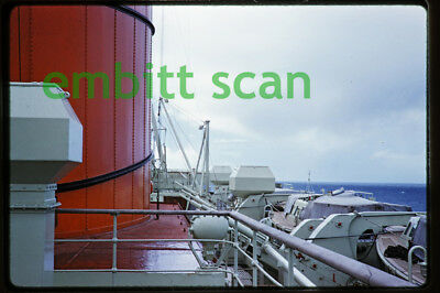 Original Slide, Aboard the Cunard Line Ocean Liner RMS Caronia in 1960, C