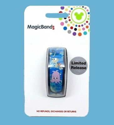 Disney Parks The Seas With Nemo & Friends Magic Band Limited Release New