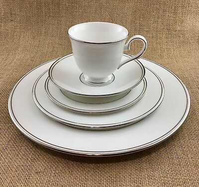 Lenox Millennium Federal Platinum Place Setting-7 Available, Price For 1 Set.