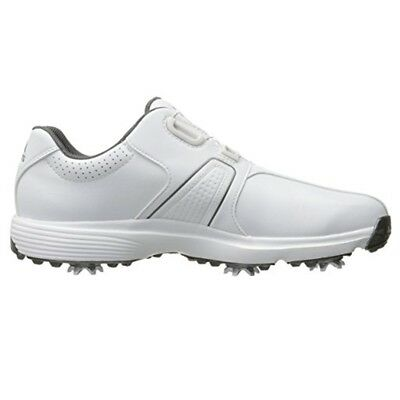 best service 54609 77529 Adidas Mens 360 Traxion BOA Golf Shoes Q44949-WhiteWhiteSilver-New