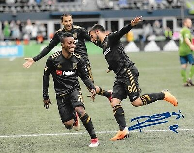 96e956e44 Diego Rossi signed Los Angeles Football Club LAFC 8x10 photo autographed MLS  4