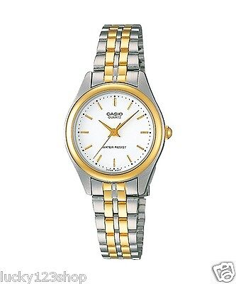 LTP-1129G-7A Casio Gold tone Stainless Steel Watch Ladies Resistant