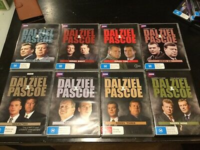 dalziel and pascoe used discs in excellent cond DVD 📀 Series 2, 3 4 5 6 8 9 10