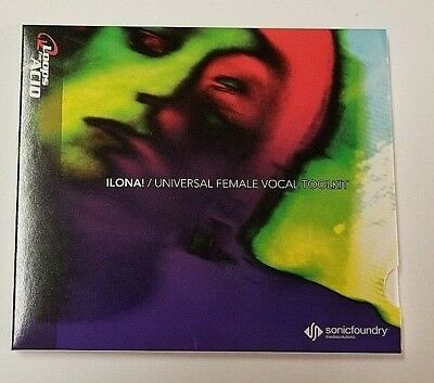 Loops For Acid Ilona! Universal Female Voice (Cd-Rom Win 2002 Sonic Foundry)