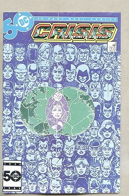 Crisis On Infinite Earths #5-1985 nm- 1st app the Anti-Monitor George Perez