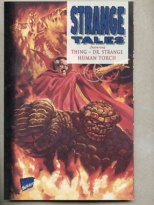 Strange Tales / Thing , Human Torch , Doctor Strange Acetate Cover GN/TPB ..NM-