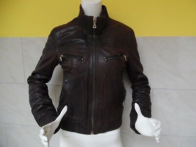 Eur Cuir Veste Authentique Taille Gabbana 42 It amp; 100 Dolce IvwzpqBxx