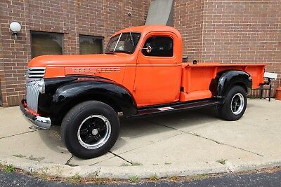 1941 Chevrolet Other Pickups 4x4 On Suburban Chassis - PS + PB 1941 Chevrolet Other Pickup 4x4 1940 1942 1943 1944 1945 1946 Suburban Chassis