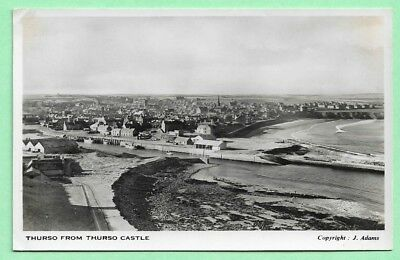 [12591] Caithness R/P Postcard Thurso From Thurso Castle