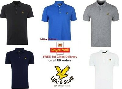 Men's Lyle and Scott Short Sleeve Polo Shirt sale