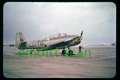 Original Slide, Royal Canadian Navy Grumman Avenger AS3 at Kindley AFB, 1958