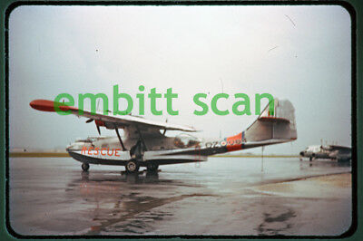 Original Slide, RCAF Consolidated Canso 2SR at Kindley AFB Bermuda, c. 1960
