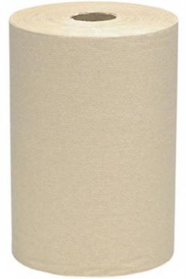 Scott 02021 Hard Roll Hand Towel Brown Pack 12