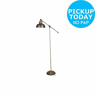 Argos Home Homes Classic Task Floor Lamp - Antique Brass