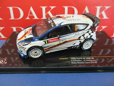 Die cast 1/43 Modellino Ford Fiesta RS WRC N8 Rally Monte Carlo 2012 F.Delecour
