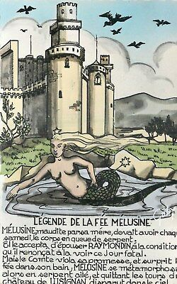 86 Legende De La Fee Melusine Illustree - Chateau De Lusignan
